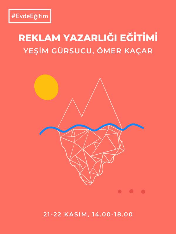 Reklam Yazarlığı Eğitimi III - Üretimhane - Yeşim Gürsucu & Ömer Kaçar