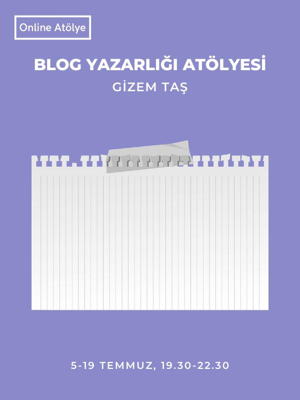 Blog Yazarlığı Atölyesi - Üretimhane